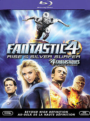 The Fantastic Four: Rise of the Silver Surfer (Blu-ray Disc, 2007, Canadian)