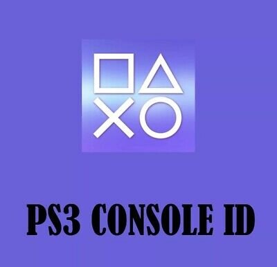 PS3 CID & Matching PSID Private and 1 Week Guarantee