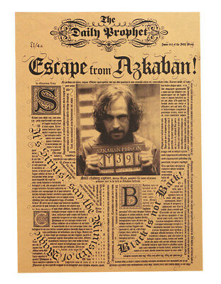 Harry Potter Movie Poster - Sirius Black Escape from Azkaban Poster 42X30cm
