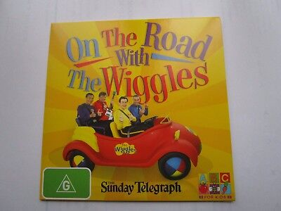 """DVD  """"On The Road With THE WIGGLES"""" ...the SUNDAY TELEGRAPH.."""