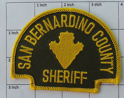 San Bernardino County Sheriff (California) patch