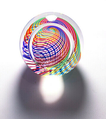 PAUL HARRIE Paperweight Multicolor Clear Signed and Numbered