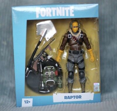 7-Inch Action Figure Video Game IN STOCK Raptor McFarlane Fortnite NEW