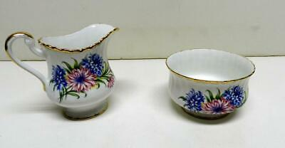Paragon England By Appointment to Her Majesty The Queen Creamer Sugar Bowl Reg'd