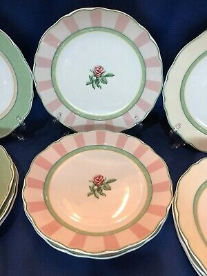"""WEDGWOOD English Cottage Peppermint 8.5"""" Salad Plate ~ Excellent ~ 3 Available"""