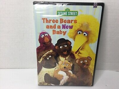 Sesame Street - Three Bears and a New Baby NEW!