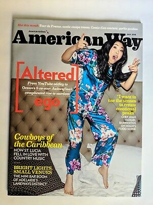 Crazy Rich Asians * Awkwafina * American Way Magazine * July 2018
