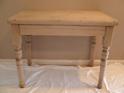 Antique Colonial Timber Hall Display Table 1910's or 20's very good condition