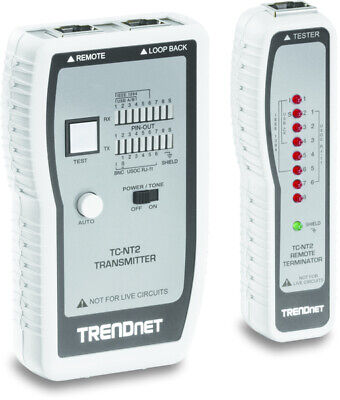 TRENDnet TC-NT2  network analyzer Blue - White Cable Tester