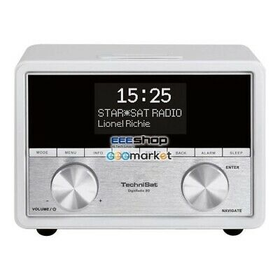 TechniSat 0001/4959 DigitRadio 80 radio Digital White Tuner - 10 W - Stereo -
