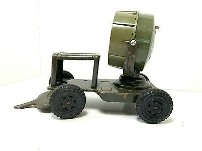Vintage  Lumar   'U.S. Army Pull Behind Lighting Trailer'  Pressed Steel
