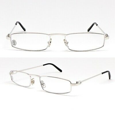 0a647522f33 Glasses Cartier Demi Lune C Decor T8100774 Eyewear Frame Glasses New Old  Stock