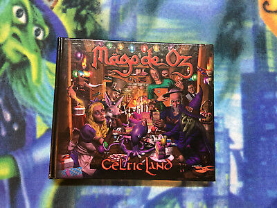 Mago De Oz - Celtic Land Digibook 2 Cds Como Nuevo