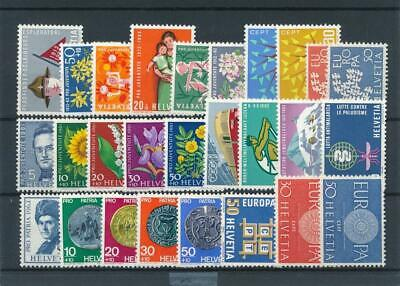 [31379] Switzerland Good lot Very Fine MNH stamps
