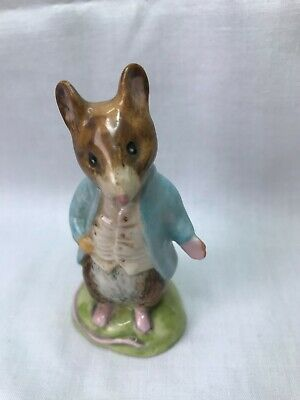 Beswick Pottery, Porcelain & Glass The Best Beswick Boxed Johnny Town-mouse With Bag Rare Bp4 Only Issued 1988-89 Perfect