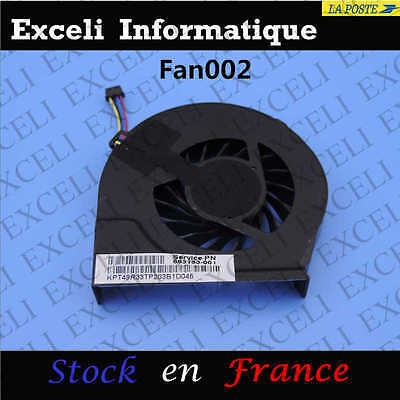 New Fan for hp pavilion g6-2000 CPU Cooling Fan 683193-001 compatible