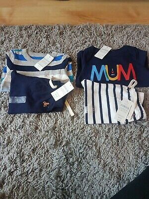 baby boy clothes 3-6 months bundle tracksuit bottoms and vests