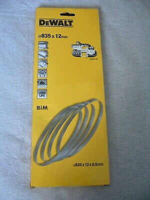 DEWALT DT8461 BANDSAW BLADES 18TPI x 4 835x12x05mm FOR USE WITH DCS371