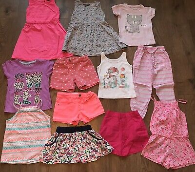 Girls summer bundle 3-4 years dresses playsuit shorts skirt tops trousers
