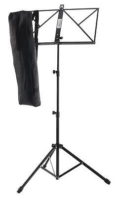 Adjustable Metal Sheet Music Stand Holde Folding Foldable with Carrying Bag