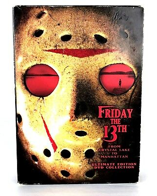 Friday the 13th Ultimate Edition DVD Collection 1 2 3 4 5 6 7 8 Jason Voorhees