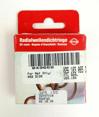 Elring Oil Seal 325.155 / 026 103 085 D NEW & SEALED