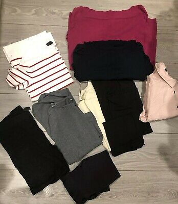 Maternity Casual Clothes Bundle Size 10/12 (10 Items) Topshop And Next
