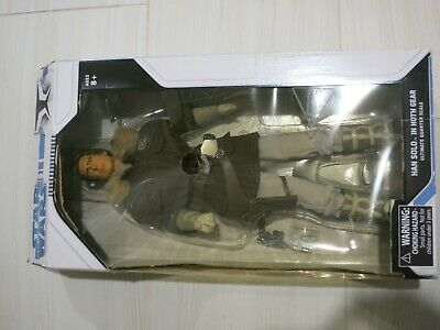 DIAMOND SELECT ULTIMATE QUARTER 18 IN Star Wars Han Solo Hoth Gear ACTION FIGURE