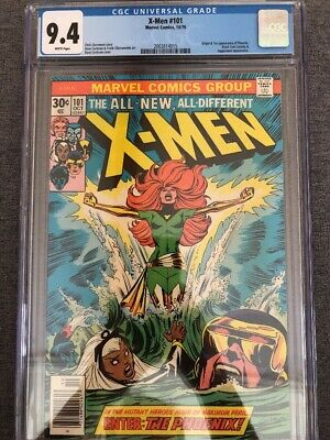X-Men #101 CGC 9.4 Origin And First Appearance of Pheonix