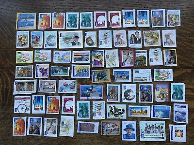 Collection Of Australia International Stamps Kiloware