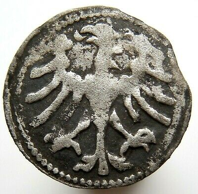 1493 Medieval Hammered Silver Coin Extra Rare!