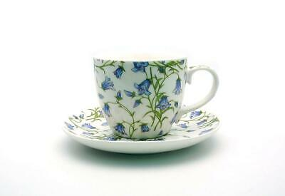 Bluebell Cup And Saucers X 6 Fine China