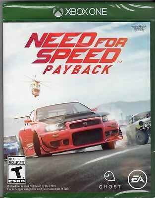 Need for Speed Payback (Xbox One, 2017 Brand New Factory Sealed)