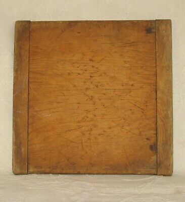 Antique Wood Bread Board End Cutting Board Old Primitive Plank Kitchen Early