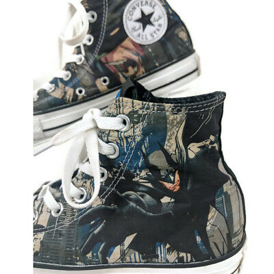 best service 5c579 e3749 Converse Batman Chuck Taylor All Star Shoes Mens 6 Womens 8 DC Comics