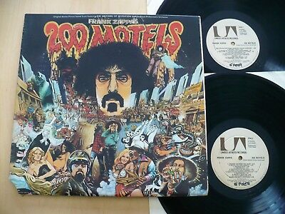 Frank Zappa- 200 Motels Rare 1971 Original Ost Ua Uas-9956 + Poster & Booklet Nm