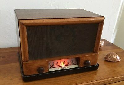 1947 Vintage Radio Electronic Laboratories Modell 2701, Restored and Works Perfe