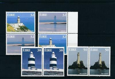 [15192] Ireland 1997 : Light Houses - 2x Good Set of Very Fine MNH Stamps