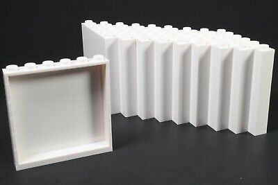 LEGO White Panel 1x6x5 Wall - (5 to 50 Pieces)
