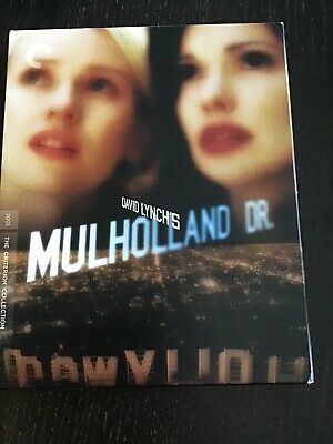 Mulholland Dr. (Blu-ray Disc, 2015, Criterion Collection)