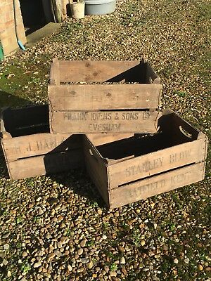 Wooden Apple Boxes