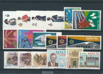 [15558] Malta : Good Lot of Very Fine MNH Stamps
