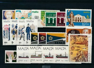 [15560] Malta : Good Lot of Very Fine MNH Stamps