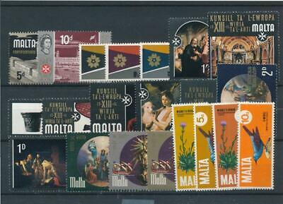 [15574] Malta : Good Lot of Very Fine MNH Stamps