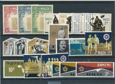 [15576] Malta : Good Lot of Very Fine MNH Stamps