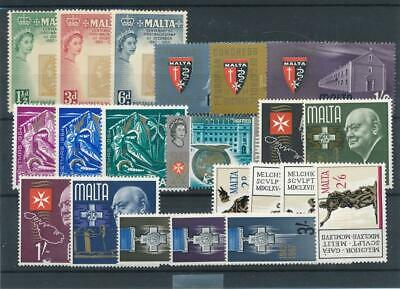 [15577] Malta : Good Lot of Very Fine MNH Stamps
