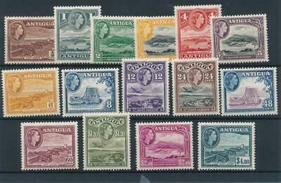[50111] Antigua 1954-56 good set MNH Very Fine stamps $80