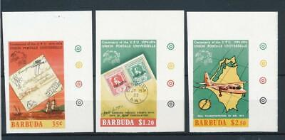 [50556] Barbuda 1974 UPU good set Imperf MNH Very Fine stamps