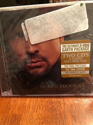 Garth Brooks - Ultimate Hits - 2 CD Set - NEW! SEALED!