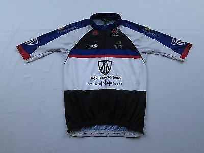 a0e338d20 Mens Pactimo Trek Bicycle Store Google Bike Cycling Jersey Size Small Race  MTB